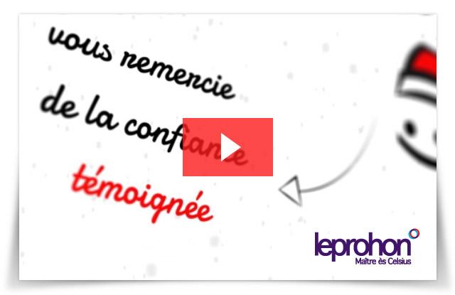 Carte de Noël leprohon 2013