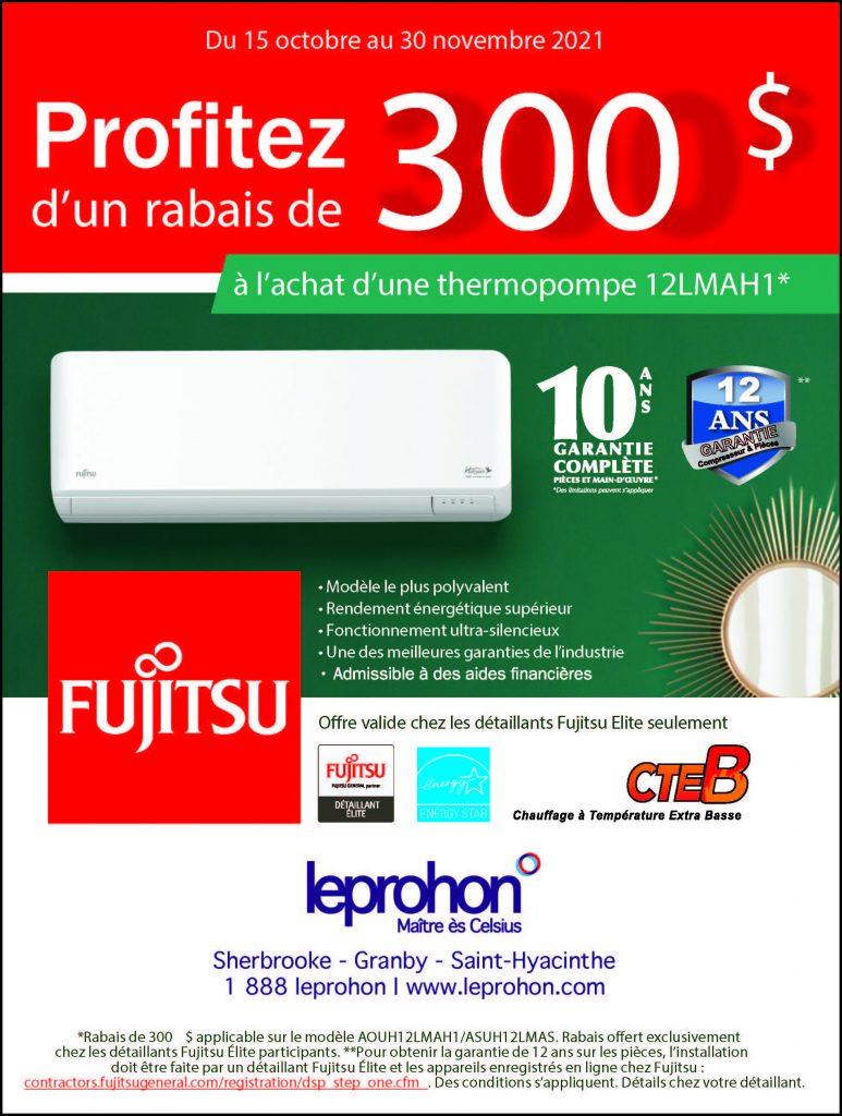 Promotion FUJITSU Automne 2021